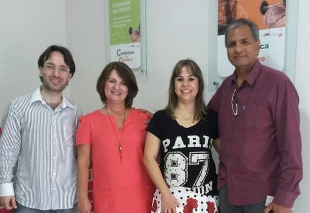 Rafael Minozzo - Luciene Brauns - Nadia Benitez - Vanderlei Oliveira