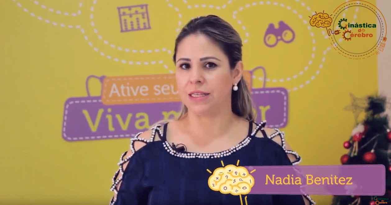 Nádia Benitez, CEO da Ginástica do Cérebro