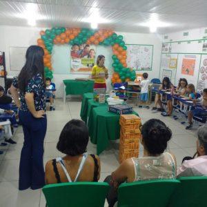 Imagem do evento realizado pela unidade Maceió da Ginástica do Cérebro