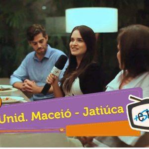 Imagem dos franqueados da unidade Maceió em gravação de programa de televisão