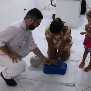 Imagem do workshop realizado na unidade Mossoró