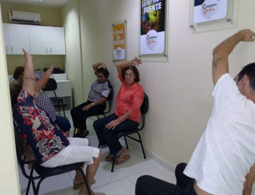 Unidade Mossoró oferece momento de relaxamento para seus alunos