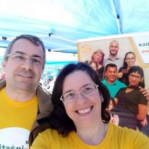 Equipe da Unidade Tijuca da Ginástica do Cérebro participa do aniversário de 260 anos da Tijuca/RJ
