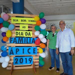 Unidade da Ginástica do Cérebro Serra das laranjeiras participa do dia da família do Colégio Ápice