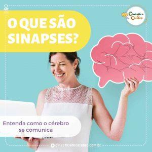 Mulher perguntando o que são sinapses